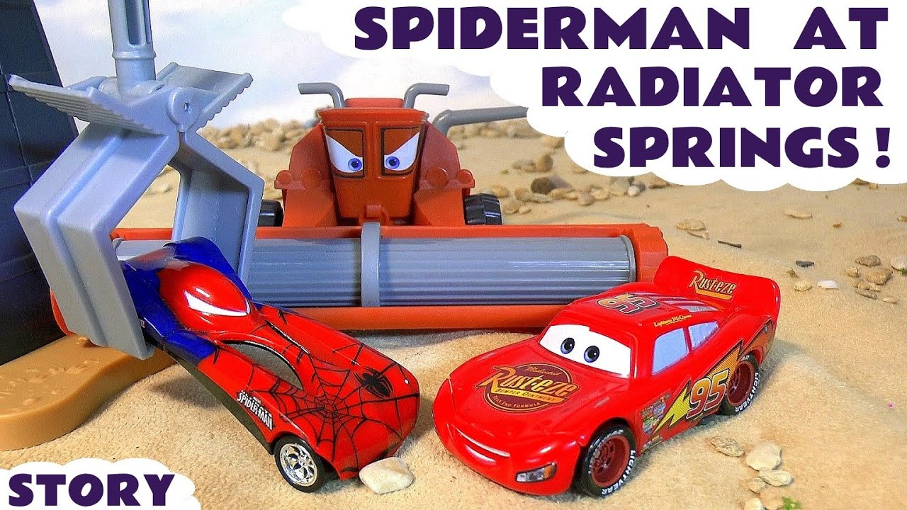 Kids Shows With Spiderman And Cars