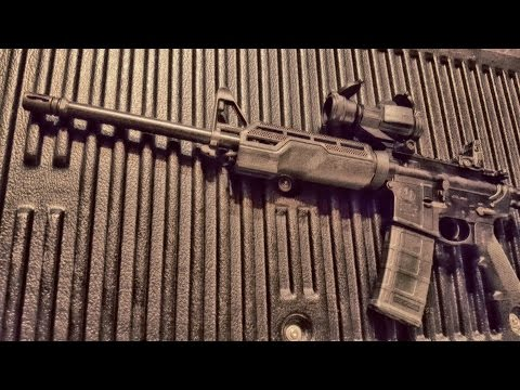 Smith and Wesson M&P Sport 2 AR 15 Disassembly and Cleaning