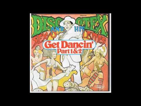 Disco Tex & His SexOLettes  Get Dancin 121974 Vinyl