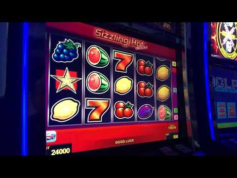 Sizzling Hot Deluxe Slot Machine Big Win Novomatic