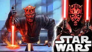 What Happened to Darth Maul's Lightsaber After The Phantom Menace? Star Wars Explained