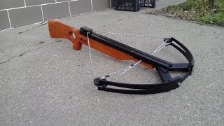 Repeat youtube video My home made compound crossbow 2.0