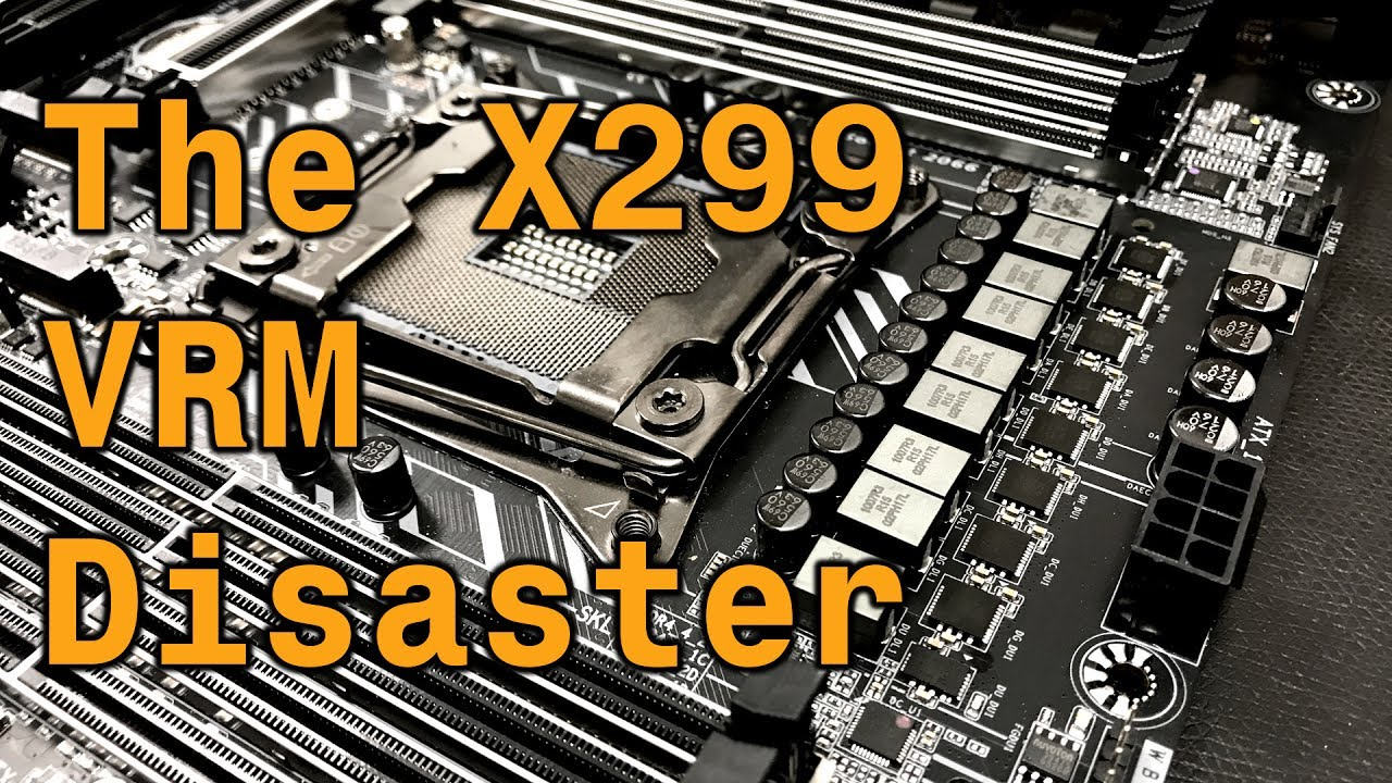 Overclocker Claims Intel X299 VRM Temps are a 'Disaster