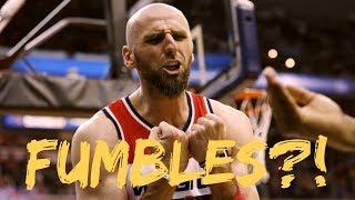 """NBA """"FUMBLE"""" Moments"""
