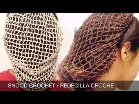 CROCHET SNOOD / REDECILLA A CROCHE - YouTube