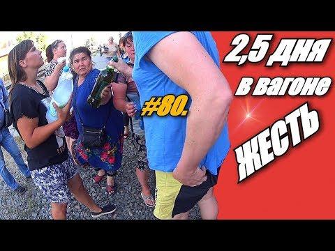 ДВА С ПОЛОВИНОЙ ДНЯ В ВАГОНЕ / ПОЕЗД ПЕРМЬ - АДЛЕР / ЛАЗАРЕВСКОЕ 2019