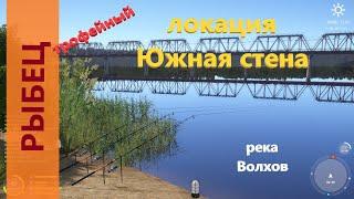 Русская рыбалка 4 - река Волхов - Рыбец трофейный напротив жд моста