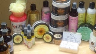 #77 2014 World Natural Hair Show HAUL part 1 Thumbnail
