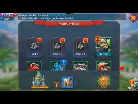 Lords Mobile, Familar , Opening 100 Pact 1B