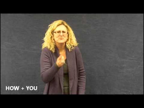 ASL 1 Unit 2 Vocabulary
