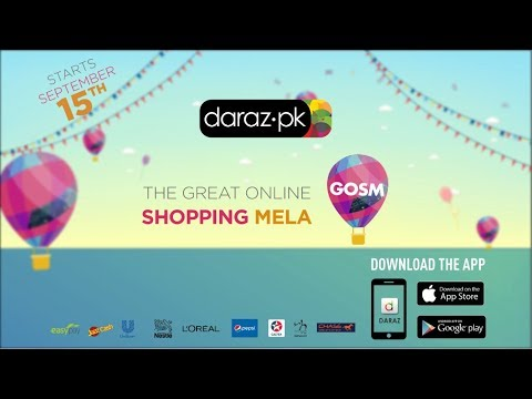 The Great Online Shopping Festival On Daraz | Free Daraz Coupons Code?