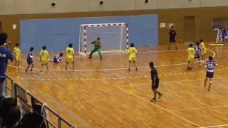 インターハイ ハンドボール2017 女子2回戦 大分(大分) VS 玉野光南(岡山)