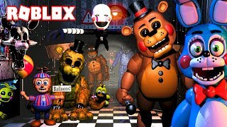 EL AUTENTICO ROLEPLAY DE FIVE NIGHTS AT FREDDY'S EN ROBLOX!!!