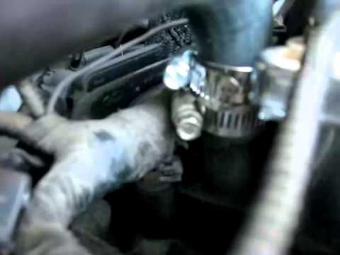 subaru vacuum diagram wiring for nordyne gas furnace 1999 mercury grand marquis - coolant leak that is causing a misfire repair youtube