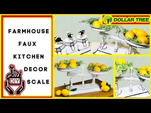 dollar-tree-diys- -faux-scale- -farmhouse-decor-diy- -kitchen-decor- -2020-easy-craft-ideas