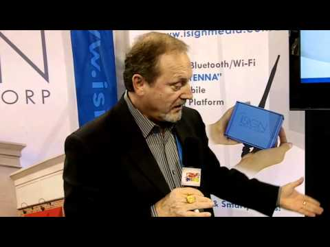 DSE 2012: iSign Media Corp.'s Saas Solution Broadcasts Via Wi-Fi or Bluetooth to Mobile Devices