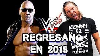 7 Luchadores que podrían regresar a WWE en 2018