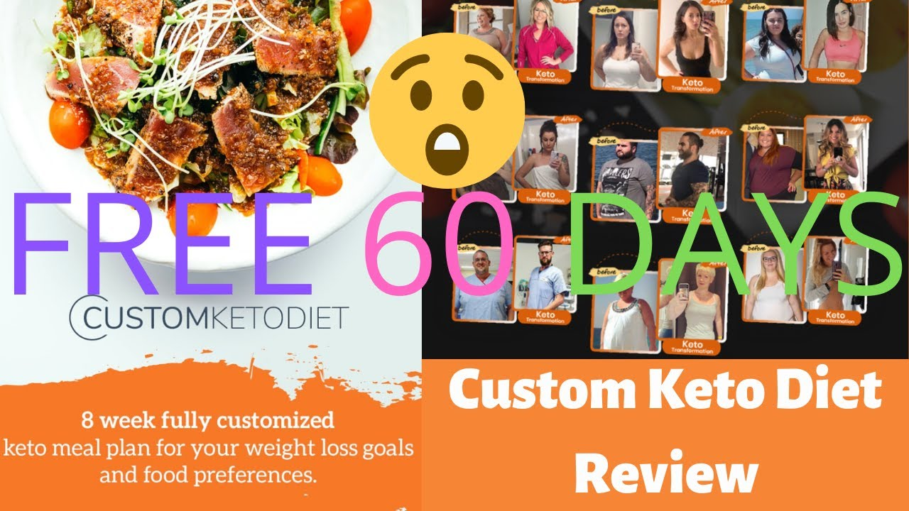 List Custom Keto Diet Plan