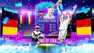 THE MOST EMOTIONAL CARD EVER?! 88 END OF ERA SCHWEINSTEIGER PLAYER REVIEW! FIFA 20 Ultimate Team