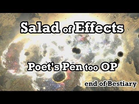 Poet's Vortex build - Path of Exile (3.2 Bestiary)