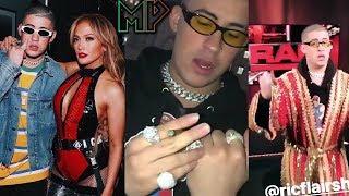 Jennifer Lopez Quiere Grabar Con BadBunny🔥 Fumando Krippy En (Wwe)