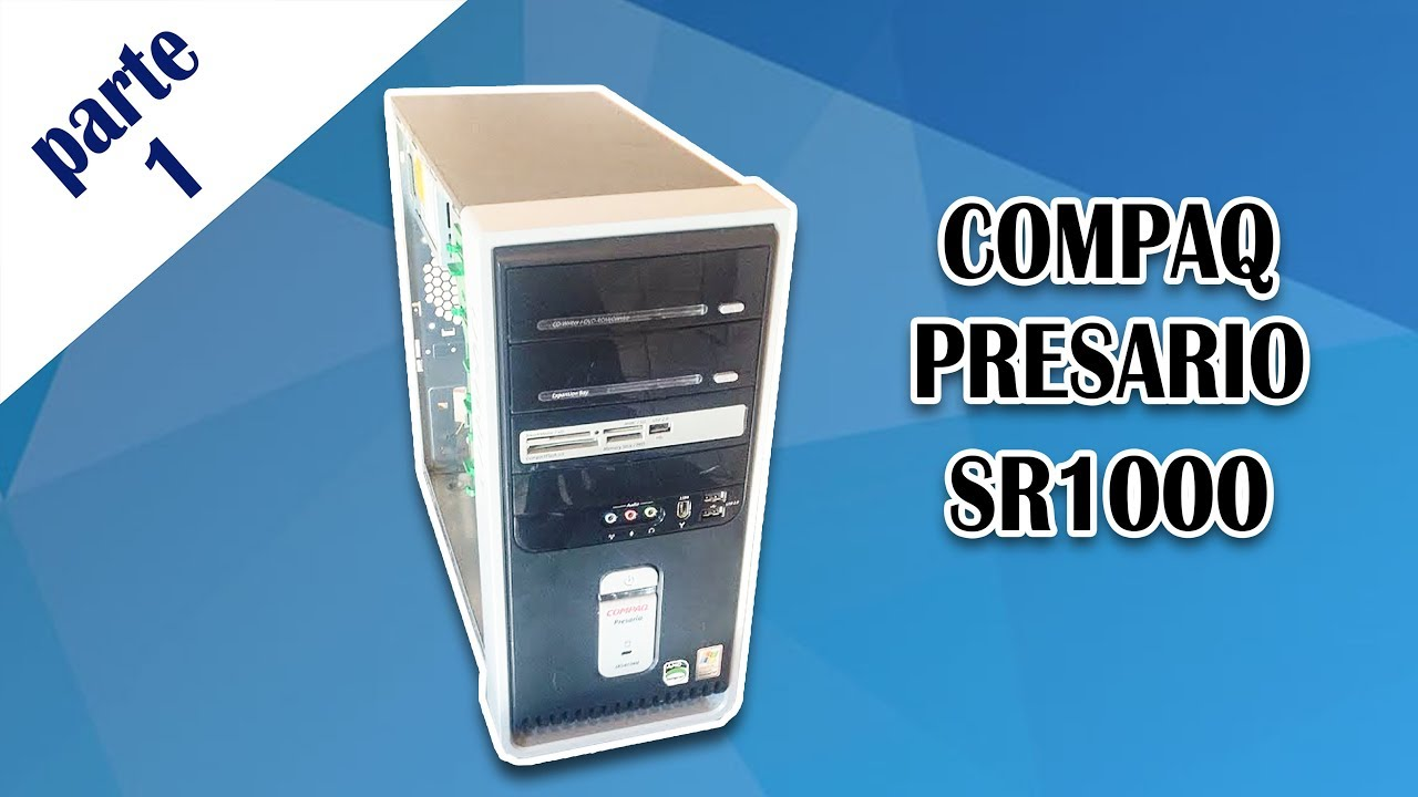 COMPAQ PRESARIO SR1000 VIDEO DRIVERS FOR PC