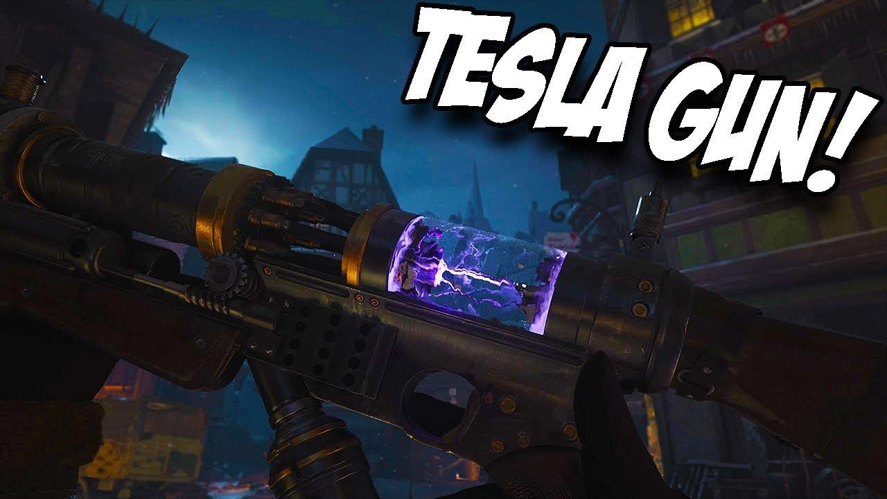 NEW! TESLA GUN Guide | Call of Duty World War 2 Zombies