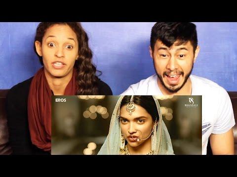 BAJIRAO MASTANI trailer reaction re-uploaded (accidentally deleted)