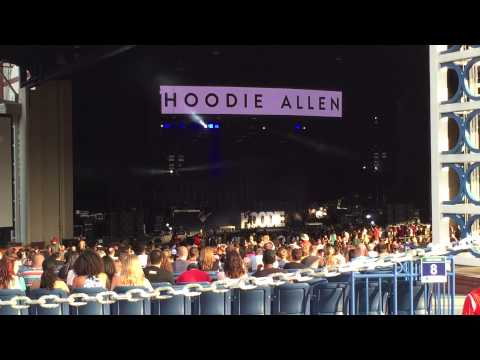 Hoodie Allen: Live at Walnut Creek Amphitheater (Raleigh NC, July 18 '15)