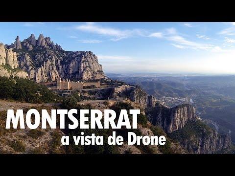Montserrat a vista de Drone