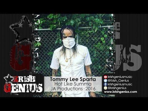 Tommy Lee Sparta - Hot Like Summa [Krisco Riddim] August 2016