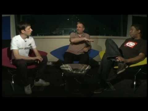 Paul Morley talks to Marshall Jefferson and Orlando of Totally Enormous Extinct Dinosaurs