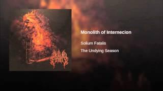 Monolith of Internecion