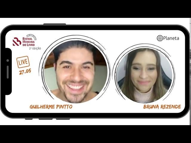 SELEÇÃO LIVES - 2ª edição Bienal na Sua Casa - Guilherme Pintto e Bruna Rezende