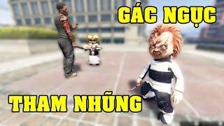 GTA 5 - Búp bê ma Chucky bóc lịch khiến Tiffany phải hối lộ cai ngục   GHTG