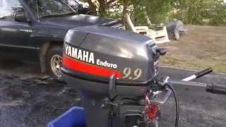2004 Yamaha 9.9hp enduro 2 stroke Shortshaft tiller outboard
