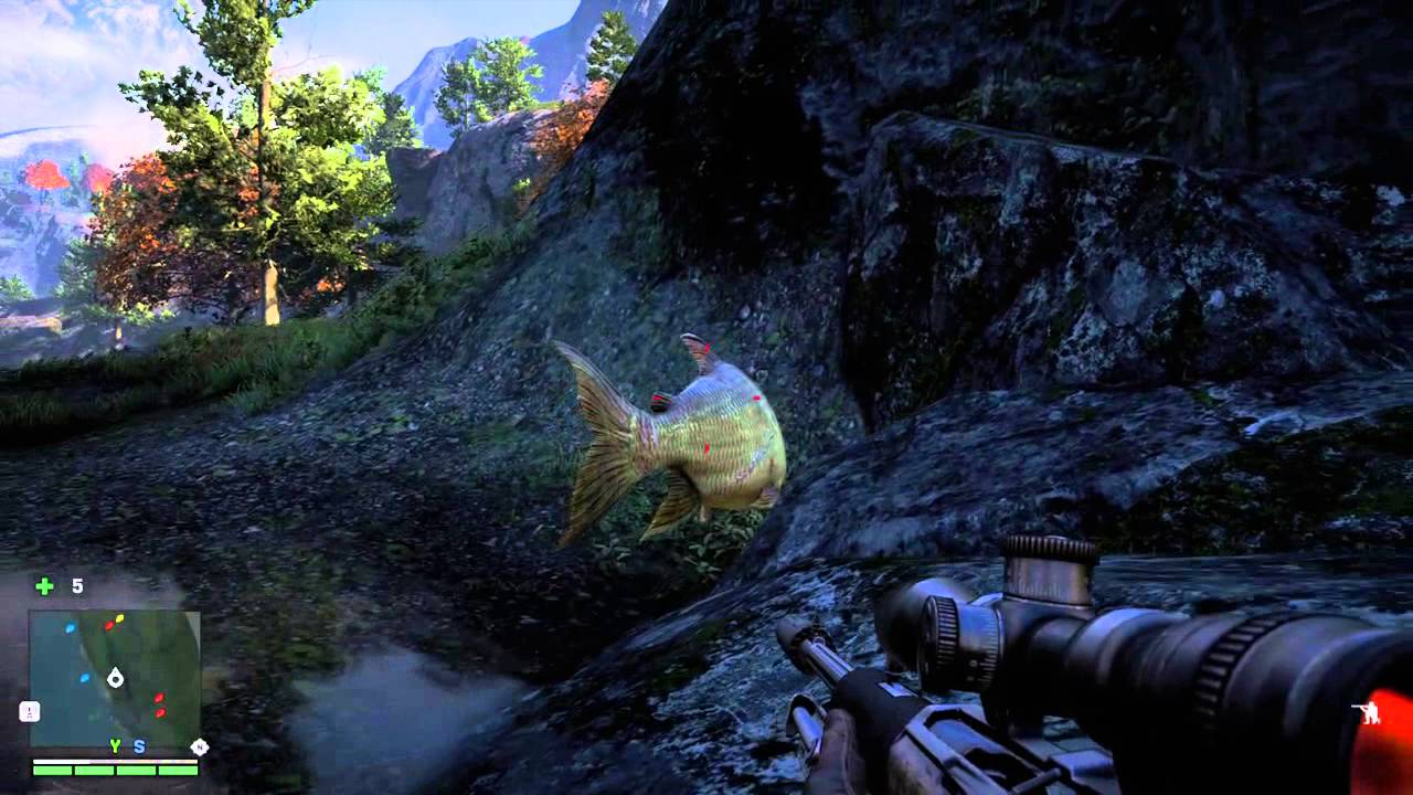 far cry 5 how to fish