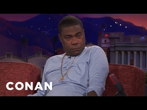 "Tracy Morgan Was A ""Crack Dealer With A Heart Of Gold""  - CONAN on TBS"