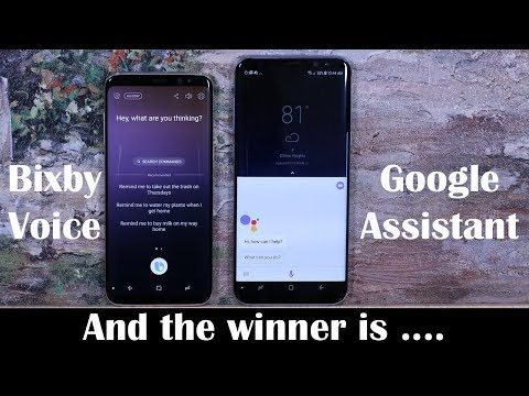 BIXBY Voice vs Google Assistant - Detailed Voice Assistant Comparison
