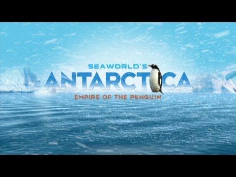 SeaWorld Antarctica: Empire of the Penguin - Teaser w/ Concept Art, Ride Vehicles, Orlando