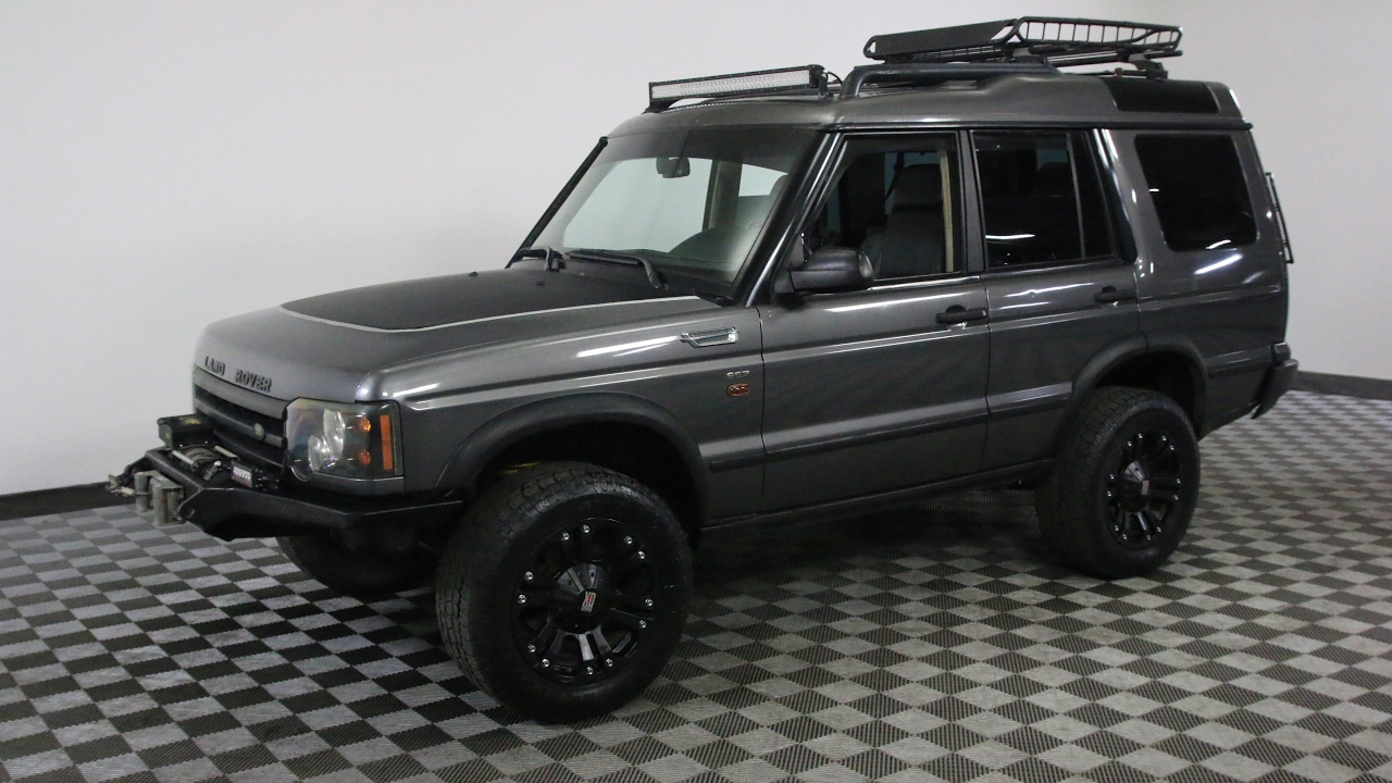 2004 Land Rover Discovery Gray