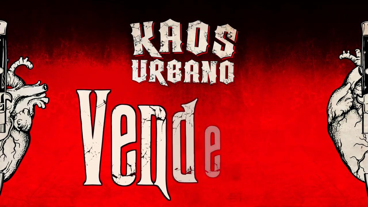 🖤🔪 KAOS URBANO - Vendetta (lyric video)🔪🖤