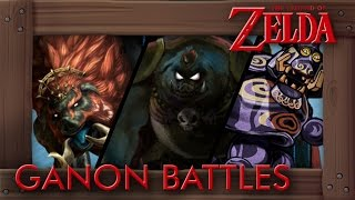 Evolution of Ganon Battles in Zelda Games (1986-2017) w/ Breath of the Wild