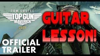 Top Gun Maverick Guitar Lesson