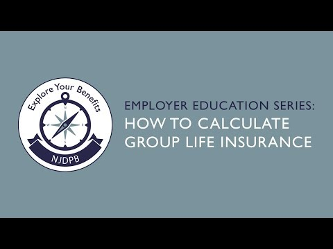 How To Calculate Group Life Insurance