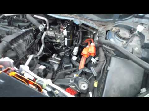 2004 Gen2 Prius Brake Pump/actuator replacement - YouTube