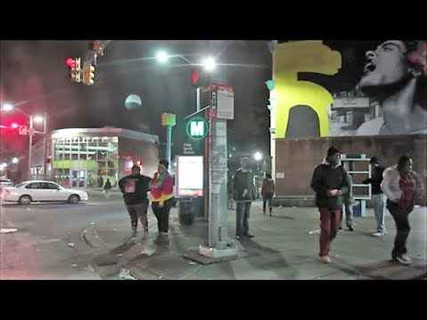BALTIMORE KIDS MAKING MONEY AT GHETTO GAS STATION
