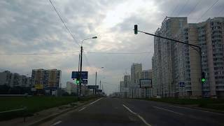 . ЖК Люберцы 2015-2016-2017-2018. Поездка на автомобиле от Делимобиля