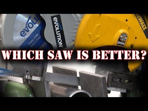 TFS: 3 Metal Cutting Saws Tested and Compared