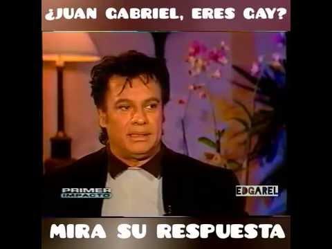 Juan Gabriel eres gay? Mira su respuesta.